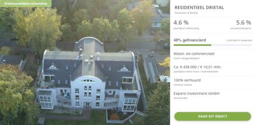 voorbeeld exporo beleggen vastgoed