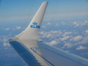 ABN Amro is hard voor Air France KLM